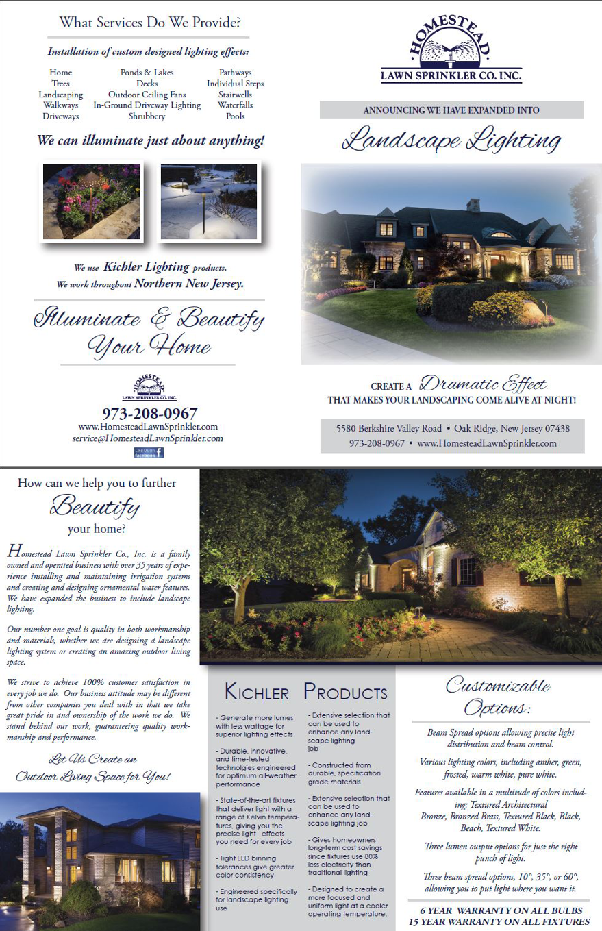 Homestead Brochure