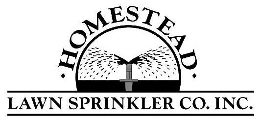 HOMESTEAD LAWN SPRINKLER
